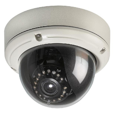 Ganz ZC-DT6312PHAL is a high resolution vandal-resistant colour dome camera with 480 TVL