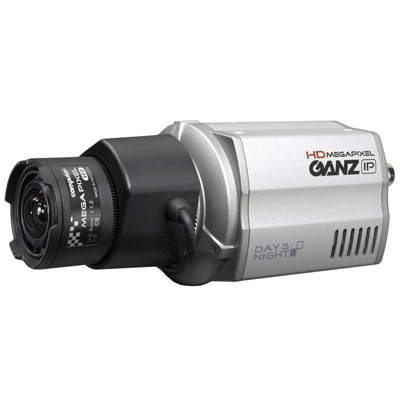 Ganz ZN-C1 dome camera with onboard basic video content analysis