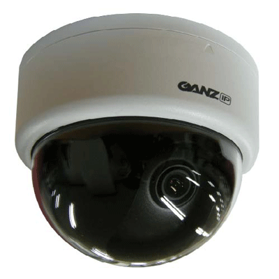 Ganz ZN-D100VE dome camera with H.264 compression