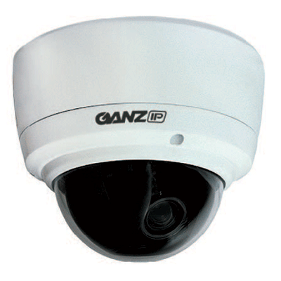 Ganz ZN-DNT350VPE dome camera with micro SD memory