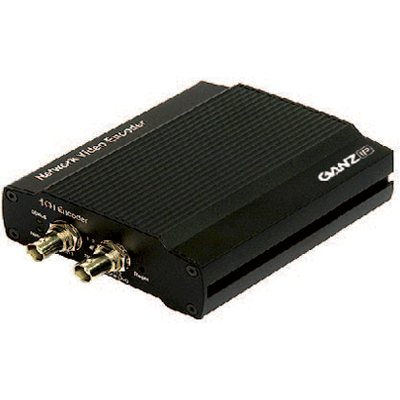 Ganz ZN-S1000AE video server with dual-stream MPEG4/MJPEG video