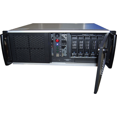 Ganz ZNS-CSR32NVR/3TB network video recorder with 32 real time video streams recording capability