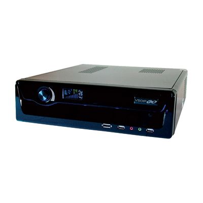 Ganz ZNS-CSTSPC8 network video recorder with multi camera display
