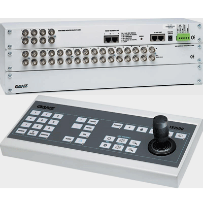 Ganz ZP-TX1500/80/8 telemetry transmitter and controller with 8 monitor outputs