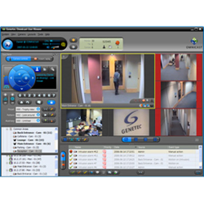 Omnicast 4.7, the latest version of Genetec's IP video surveillance system