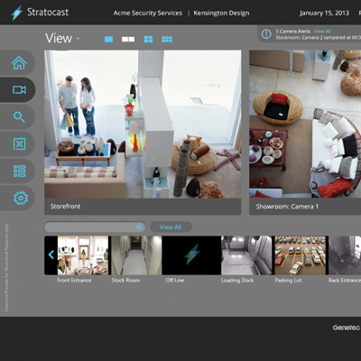 Genetec Unveils Stratocast: A New Affordable and Easy-to-Use Cloud-Based Video Surveillance Solution on Windows Azure