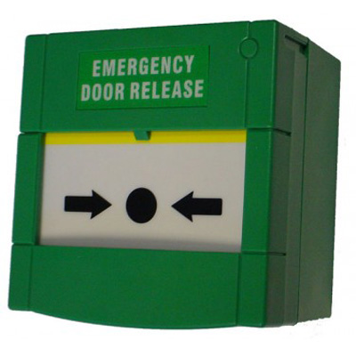 Genie CCTV Limited GACP-2PRS - green emergency door release