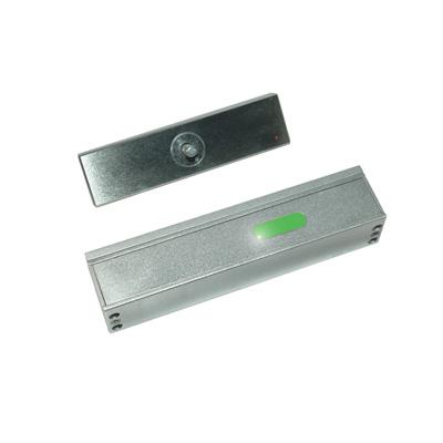 Genie CCTV Limited GAMEM 2400 LP slim line vortex surface mount magnetic lock + LED + door status
