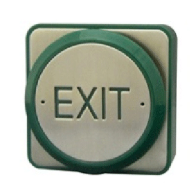 Genie CCTV Limited PP-REX push to exit plate