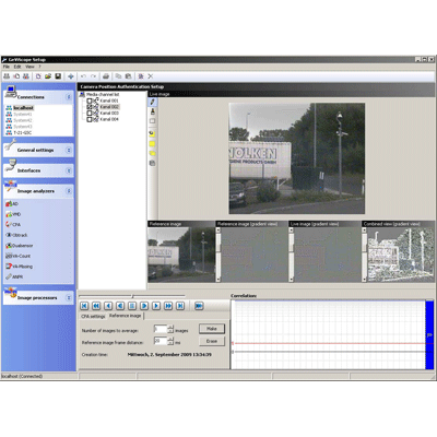 Geutebruck Camera Position Authentication CCTV software