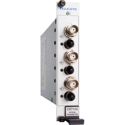 Geutebruck CRT-103 3-channel composite video fibre optic receiver module