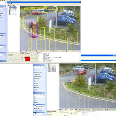 Geutebruck Dual-Sensor CCTV software with 3-D video sensor and analysis function