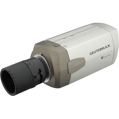 Geutebruck EcoBC-1110 IP camera for a professional and gap free video surveillance