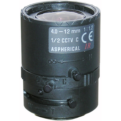 Tamron G-Lens/VF4-12MI-1/2-DN Manual aspherical IR-corrected day/night vario focal lens