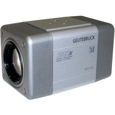 Geutebruck GCC-261 compact high resolution day/night camera with 480 TVL
