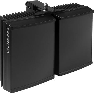 Geutebruck Helios/L-IR-120 CCTV camera lighting with PSU-integrated twilight switch