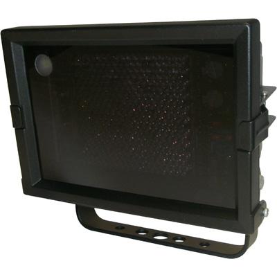 Geutebruck Helios-SPOT/10°  infrared illuminator with integrated twilight switch.