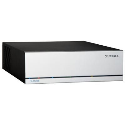 Geutebruck re_porter_bank-16 is a Hybrid Recorder for digital storage and transmission of video signals based on the GEUTEBRÜCK optimized MPEG4 CCTV-Standard.