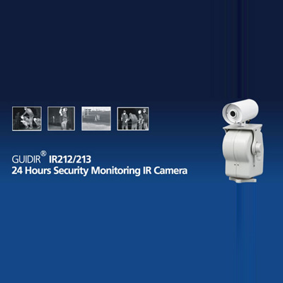 Guide IR212/213 - 24 hours security monitoring IR camera