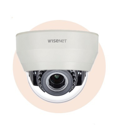 Hanwha Techwin America HCD-6070R 2MP Analog HD IR Indoor Dome