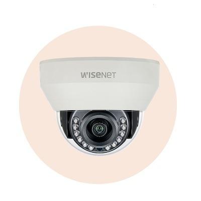 Hanwha Techwin America HCD-7030R 4MP Wisenet HD+ Indoor Dome Camera