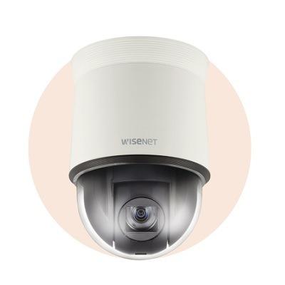 Hanwha Techwin America HCP-6320A Full-HD 1080p Analog HD 32x Outdoor PTZ Dome Camera