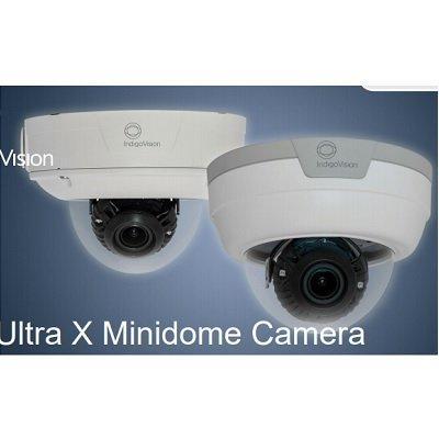 IndigoVision HD Ultra X Vandal Resistant Minidome, Telephoto Lens