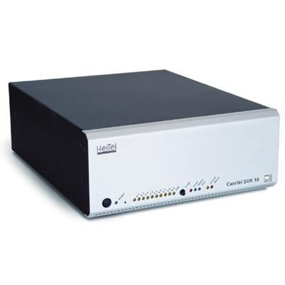 Heitel CamTel SVR 10 digital video transmission system for 10 analogue or IP cameras