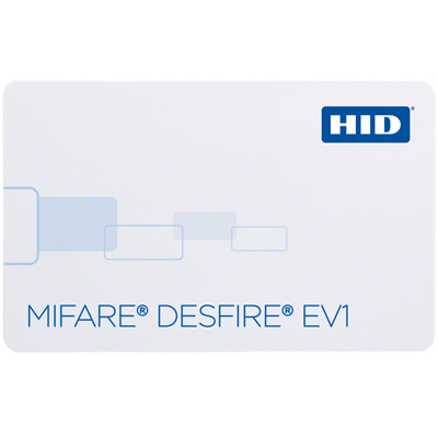 HID 1451 MIFARE DESFire EV1 / HID Prox Combo Card