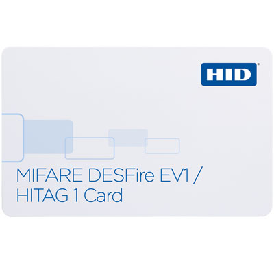 HID 1451x MIFARE DESFire EV1 + HITAG1 Card with Secure identity object support