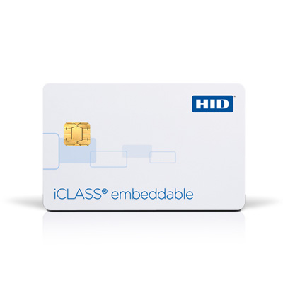 HID 213x iCLASS Embeddable & iCLASS Prox Embedded Card contactless smart card