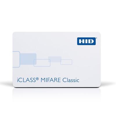 HID 252, 262 & 263 iCLASS + MIFARE Classic or MIFARE DESFire EV1 + Prox Access control card/ tag/ fob