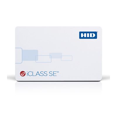 HID 3004 iCLASS SE High-Frequency Contactless Smart Card  PVC Cards