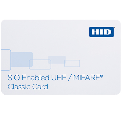 HID 603X SIO-enabled UHF/MIFARE Classic Card for parking, gate and other applications