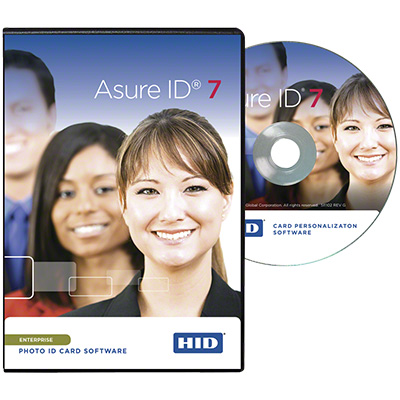 HID Asure ID Enterprise 7 card personalisation software