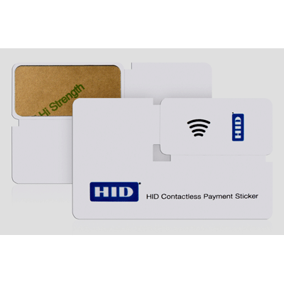 HID Contactless Payment and Identification Stickers Access control card/ tag/ fob