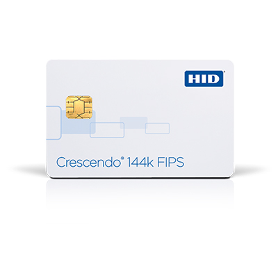 HID Crescendo 144K FIPS high security smart card for logical and physical access