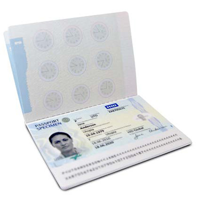 HID Datapage for e-passport systems
