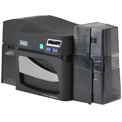 HID DTC4500e ID high capacity plastic card printer & encoder