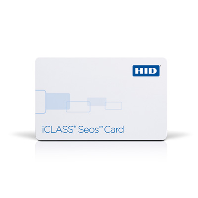 HID iCLASS® Seos™ - High frequency contactless smart card for securing identities