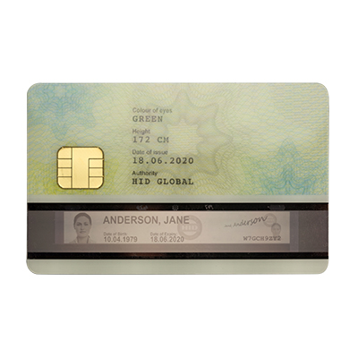 HID Optical Stripe Media (OSM) and Multi-tech OSM Cards for highly sensitive travel documents