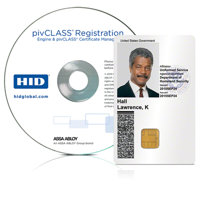 HID pivCLASS Registration Engine software