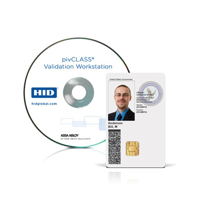 HID pivCLASS Validation Workstation Software