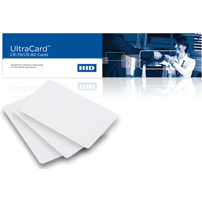 HID UltraCard non-technology cards