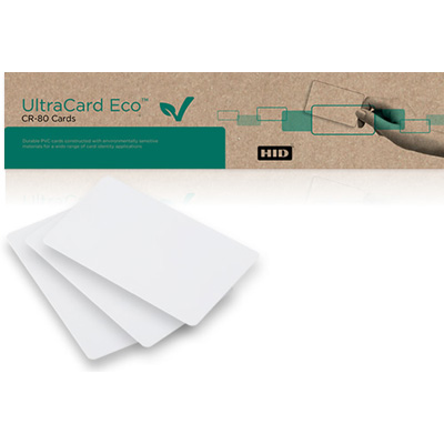HID UltraCard Eco non-technology cards