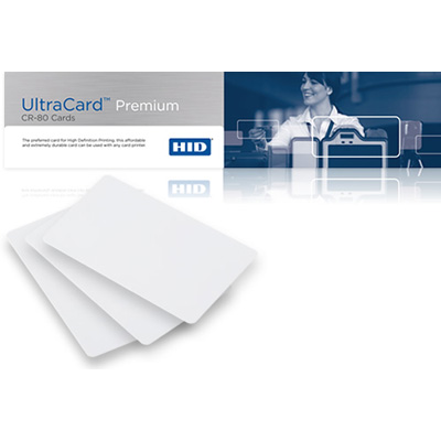 HID ultracard premium non-technology cards