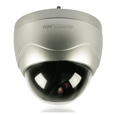 Hikvision DS-2AF1-401X dome camera with 4 programmable privacy masks