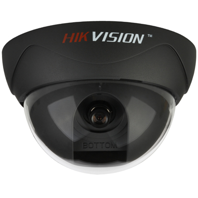 Hikvision DS-2CC532P/N analogue compact colour dome camera with 480 TVL