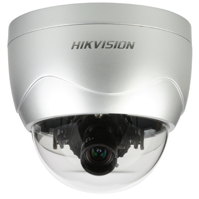 Hikvision DS-2CD712PF(NF)(-E) IP dome camera with 480 TVL