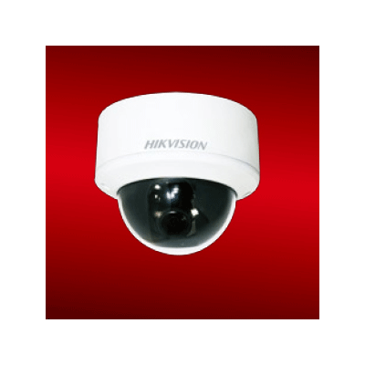 Hikvision DS-2CD754F-E(I) dome camera with H.264/MJPEG video compression